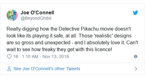 Detective Pikachu: Gross furry Pokemon divides fans