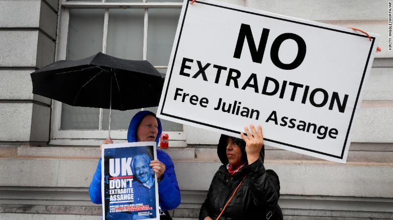Julian Assange denied delay to extradition hearing