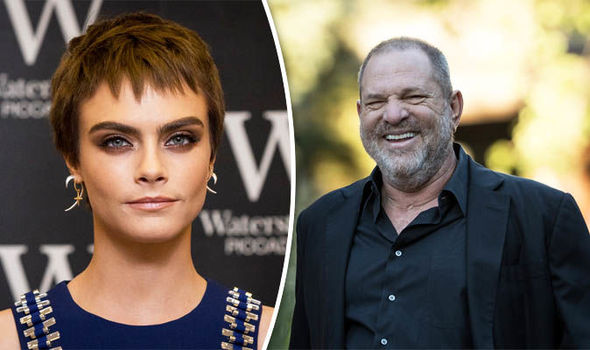 Cara Delevingne: Harvey Weinstein tried to lure me into a threesome