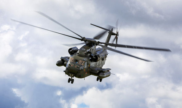 Has US military helicopter been SHOT DOWN? Aircraft crashes in Japan near North Korea