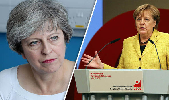 Germany's Brexit mind games: Merkel warns UK 'time is running out' to strike deal with EU
