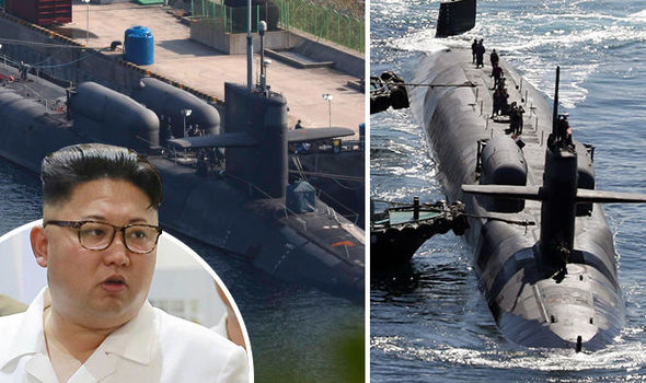 WATCH OUT KIM: World's biggest nuclear submarine from US arrives on North Korea doorstep