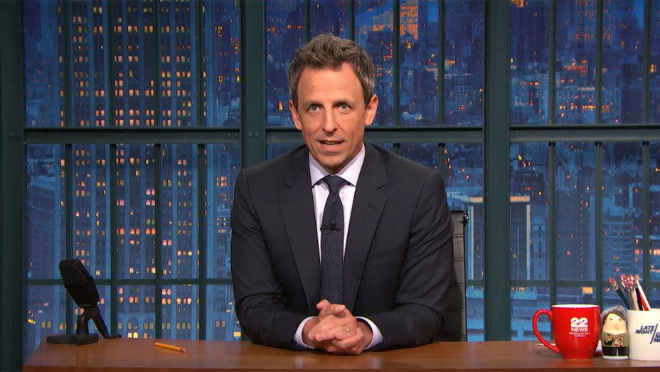 Seth Meyers Takes on Trump, Weinstein and Toxic Culture of Male Entitlement in Late Night Rant