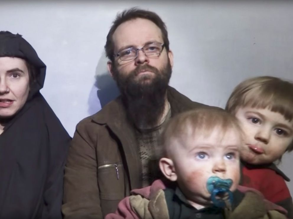 Freed hostage says Taliban-linked captors killed infant daughter, raped American wife