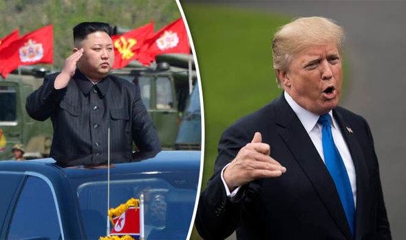 US will be reduced to ASHES: North Korea sparks WW3 fears with threat to loser' Trump