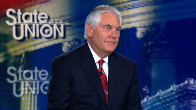 Tillerson wont say if he called Trump a moron
