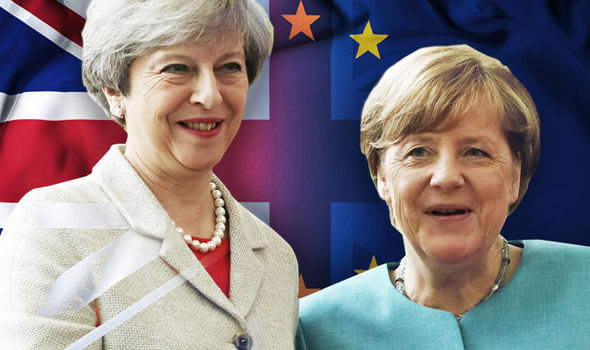 Brexit talks MUST progress: May and Merkel agree end to deadlock over EU payment demands