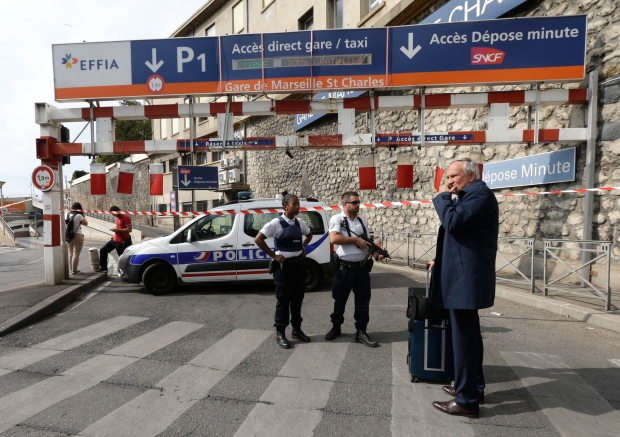 2 women stabbed to death at Marseille train station, attacker shot dead