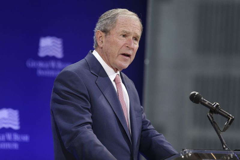 George W. Bush Condemned The Trend Of 'Nationalism Distorted Into Nativism'