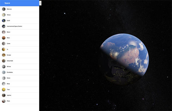 Google Maps: How to explore space with Googles interactive map of the solar system