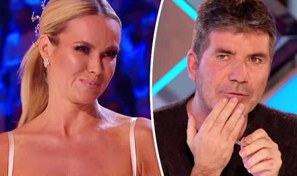 Amanda Holden teases Simon Cowell ROMANCE as she makes shock confession