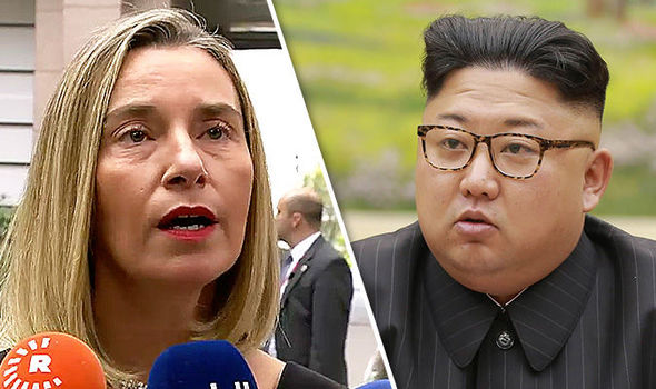 World War 3: EU security boss issues STERN threat to North Korea -  gravest punishment