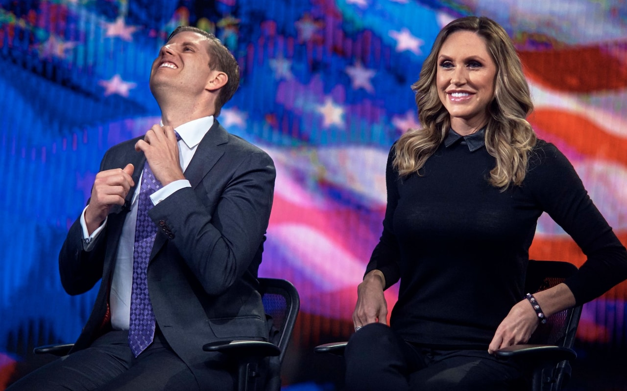 Lara Trump becomes face of Donald Trumps 2020 re-election campaign