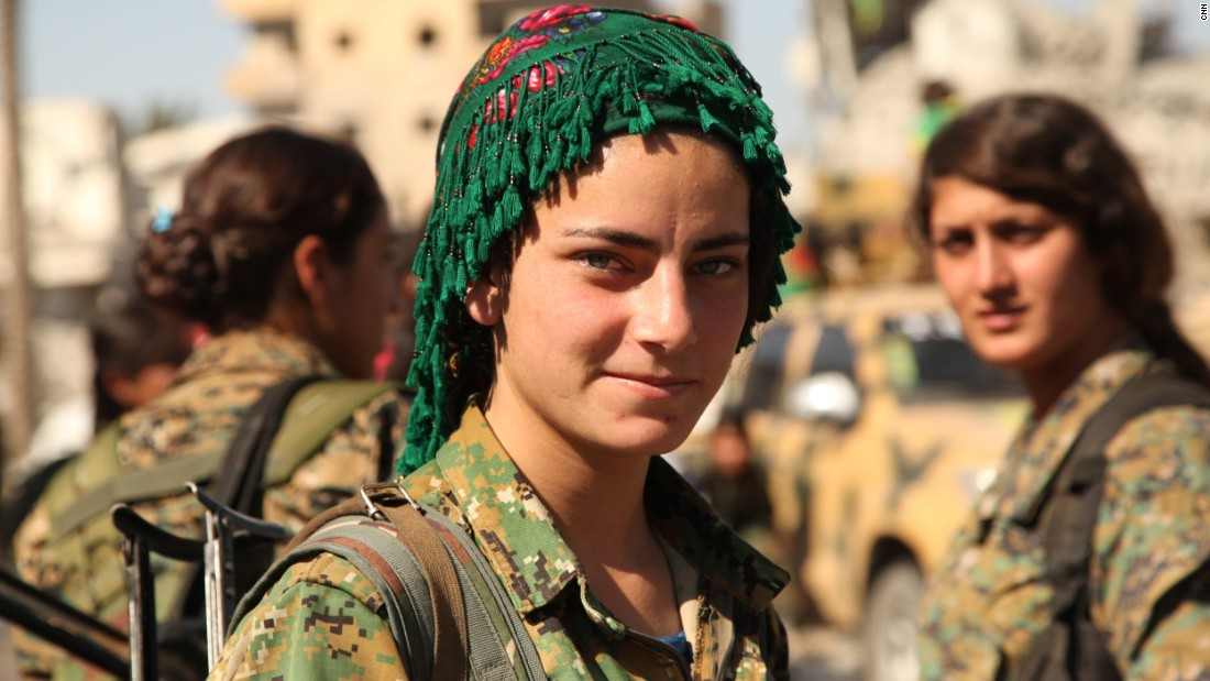 The women fighters who helped defeat ISIS in Raqqa