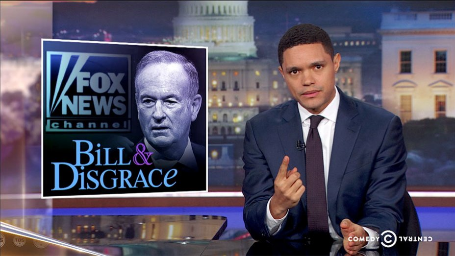 Trevor Noah Calls Out Fox News for Differing Treatment of Weinstein and OReilly