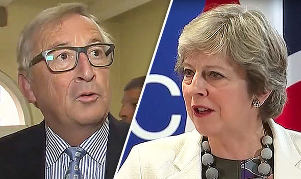 WATCH: Moment Jean-Claude Juncker is grilled over SHOCK German paper Brexit talk leaks