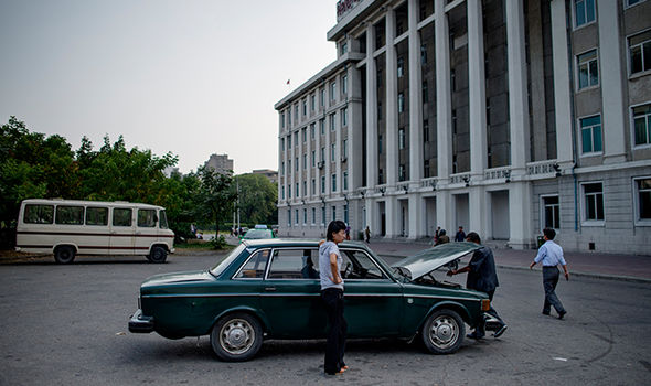 North Korea owe Sweden £2.4billion after stealing 1,000 classic Volvos to use as TAXIS