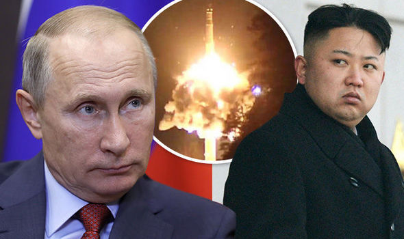 WORLD WAR 3 FEARS: Russia unleashes SATAN 2 and fires ballistic missiles near North Korea