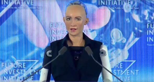 Robot who wants to 'DESTROY humans' has been given Saudi Arabia citizenship