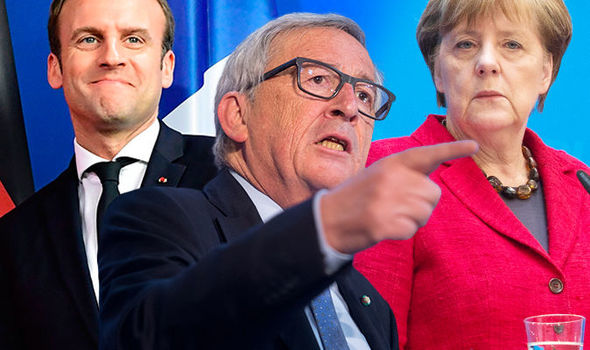 United states of Europe: Junckers plot for Chancellor for ALL of EU