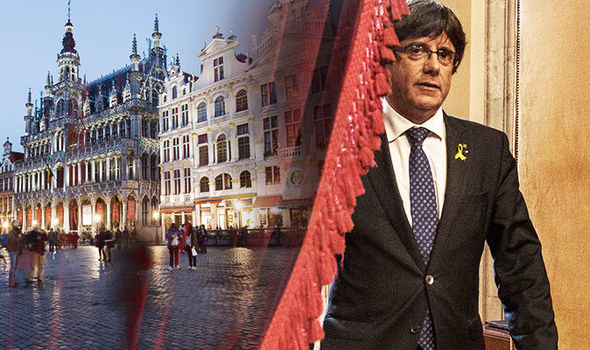 Spain V Belgium: Catalonia leader travels to BRUSSELS after asylum offer from Belgium city