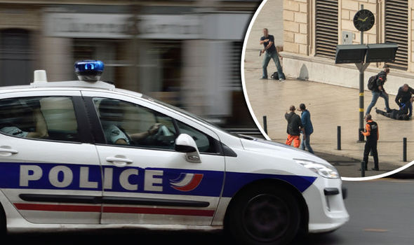 French police arrest couple with ROCKET LAUNCHER near Marseille days after knife terror