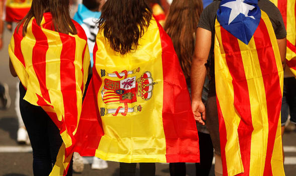 Catalonia is NOT alone: Mapped - the other European regions desperate for independence