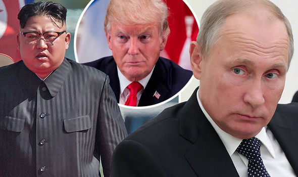 Vladimir Putin gives lifeline to Kim Jong-un in bid to save regime and stop World War 3
