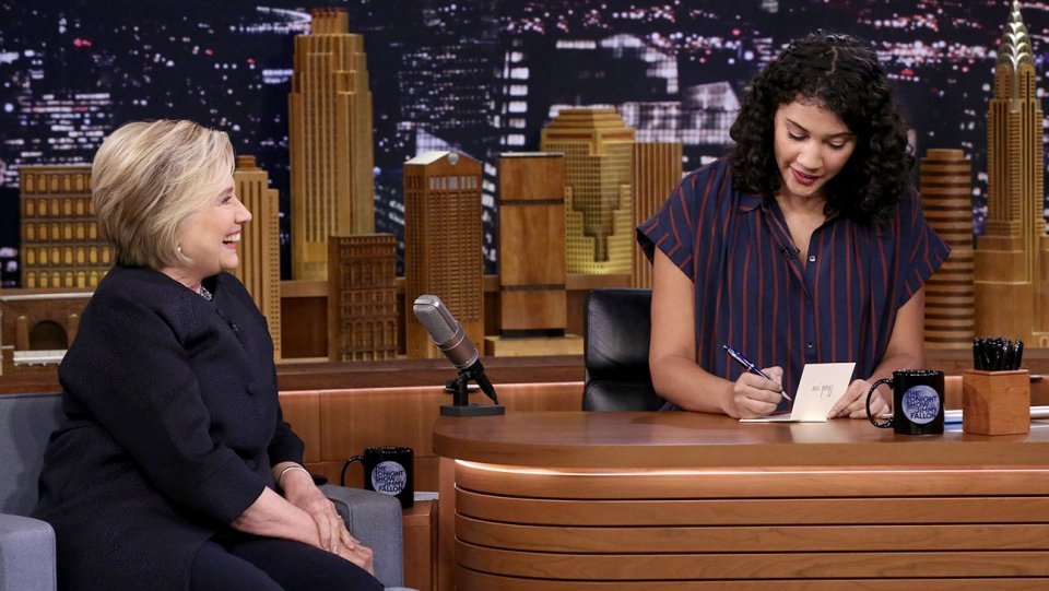 Tonight Show Female Writers Pen Thank You Notes to Hillary Clinton