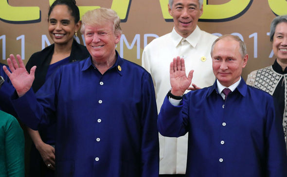 Trump meets Putin: US and Russia face to face just a day after Putins meeting with China