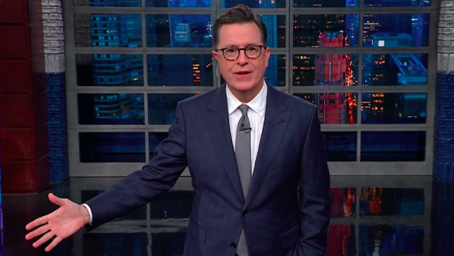 Stephen Colbert Tackles Roy Moore Allegations
