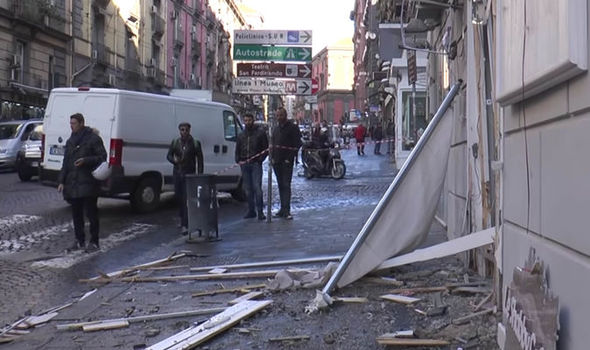 BREAKING: Bomb explodes outside city centre bar - Naples