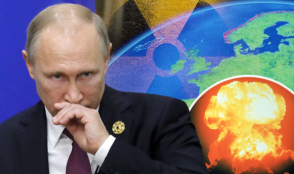Russia sparks nuclear alert as radioactive cloud spreads over Europe