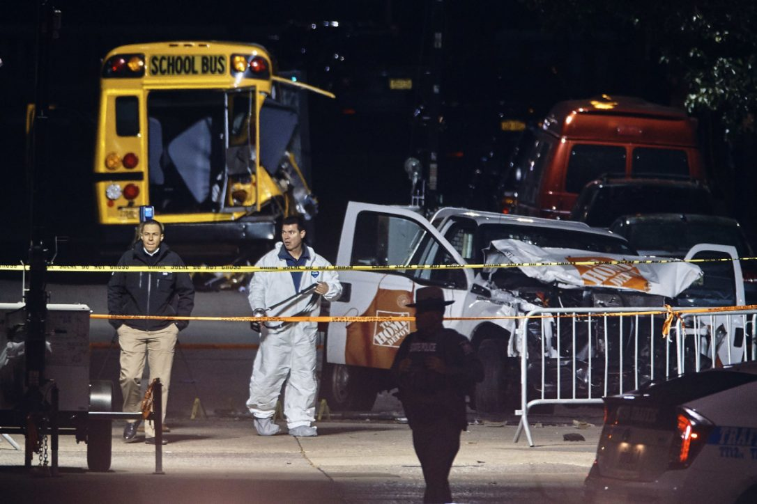 New York truck attack suspect did this in the name of Daesh, police say