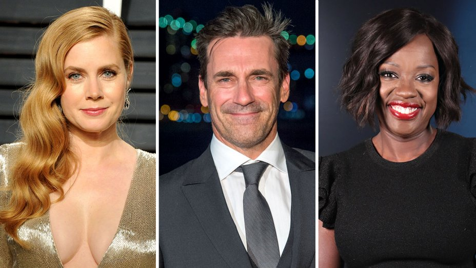 Hollywood Film Awards: Amy Adams, Jon Hamm, Viola Davis Among Presenters