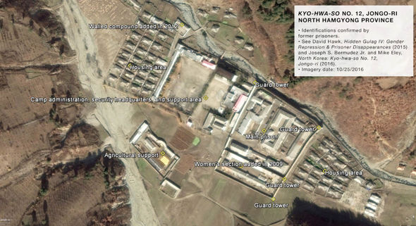 Inside North Korea's gulags: The shocking conditions in Kim's political prison camps