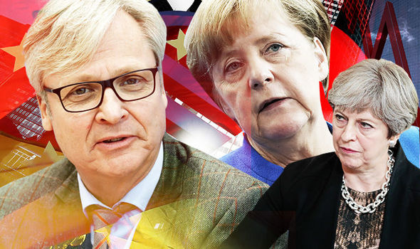 GRAVE CONSEQUENCES Germany will lose BILLIONS in a Brexit no deal, warns business leader