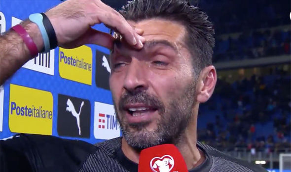 Italy vs Sweden: Gianluigi Buffon breaks down after failing to qualify for 2018 World Cup