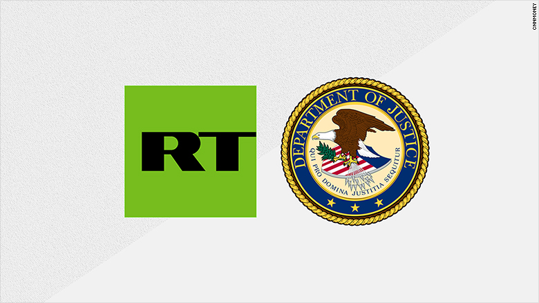 Russias RT America registers with DOJ as a foreign agent