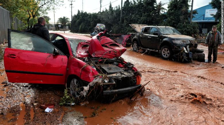 15 dead in Athens flash floods