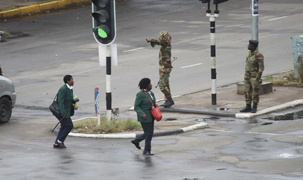 Zimbabwe coup LIVE: Tyrant Robert Mugabe REMOVED from power as army take control of Harare