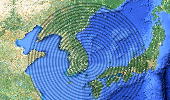 North Korea: Earthquake hits Sea of Japan - Ring of Fire shudders amid missile test fear