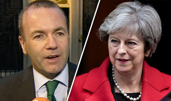Don't break your promise! Angela Merkel ally Weber insists Britain MUST pay Brexit bill