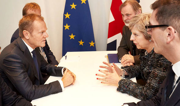 Tusk delivers Brexit ULTIMATUM: EU chief tells May she has just TWO WEEKS to up cash offer