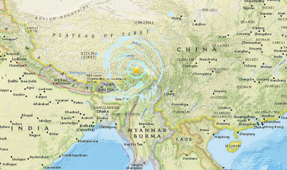 Huge 6.3 magnitude earthquake rocks central China