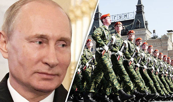World on EDGE: Putin increases size of army to 2 MILLION troops as tensions soar