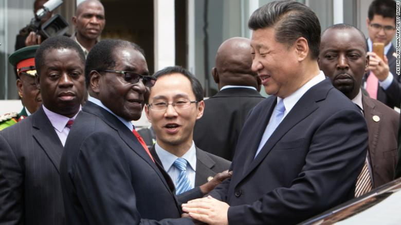 The Chinese connection to the Zimbabwe coup