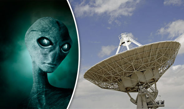 SHOCK CLAIM: Aliens could contact humans within 25 years