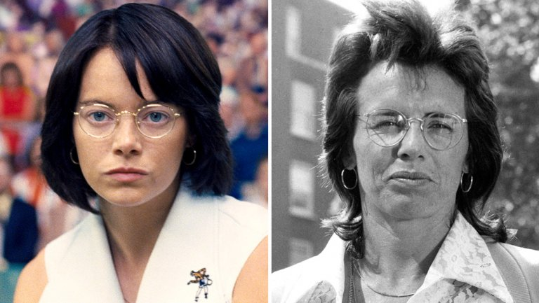 Battle of the Sexes: How Emma Stone Became Billie Jean King With a Tan and 70s Haircut