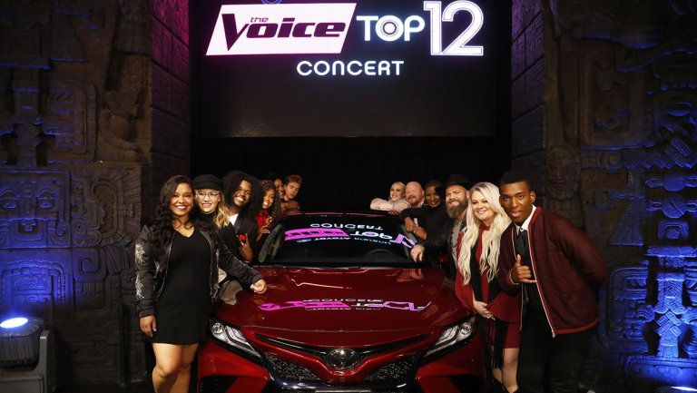 'The Voice': Top 12 Perform Live for America's Vote